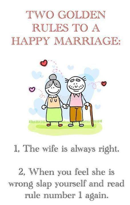 2 Golden Rules To A Happy Marriage
