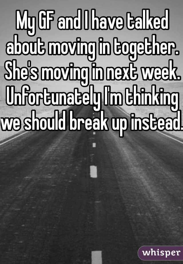 14 awkwardly true confessions about moving in together for Moving in together quotes