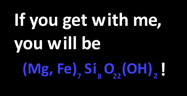 1. Bad pick up lines for geologists.