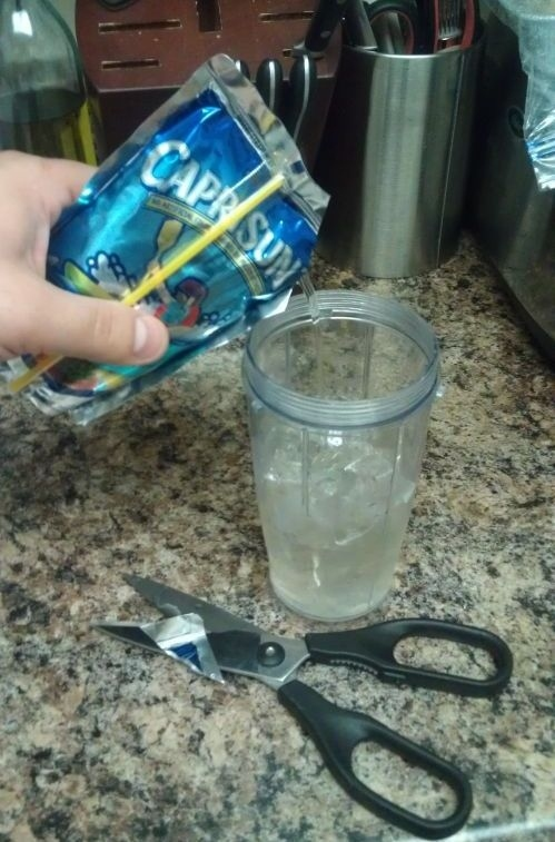 2. Any person who pours a Caprisun into a glass like a DAMN BARBARIAN