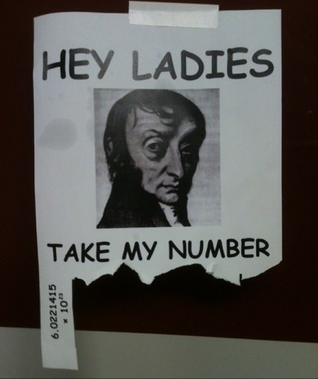 7. Dating with Amedeo Avogadro