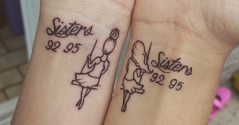 25 Best Sister Tattoos Ideas On Internet That Show The Love Bonding