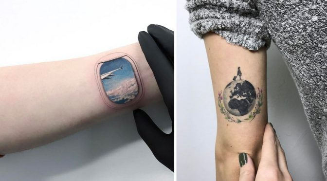 15+ Amazing Travel Tattoo Ideas That Will Make You Want To Pack Your Bags ASAP